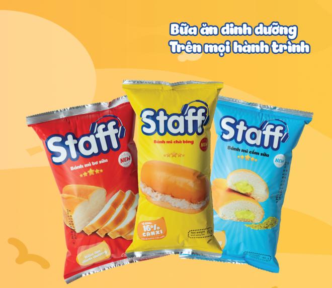 Bữa ăn dinh dưỡng – Nguồn cảm hứng thay đổi diện mạo mới của Staff - Bánh Mì Staff