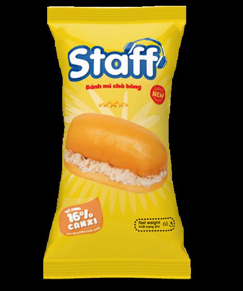 Staff bánh mì chà bông 60g - Bánh Mì Staff