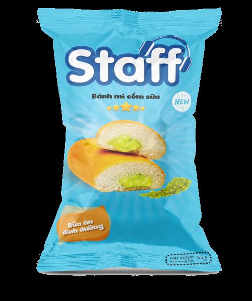Bánh mì cốm sữa 55 gr - Bánh Mì Staff