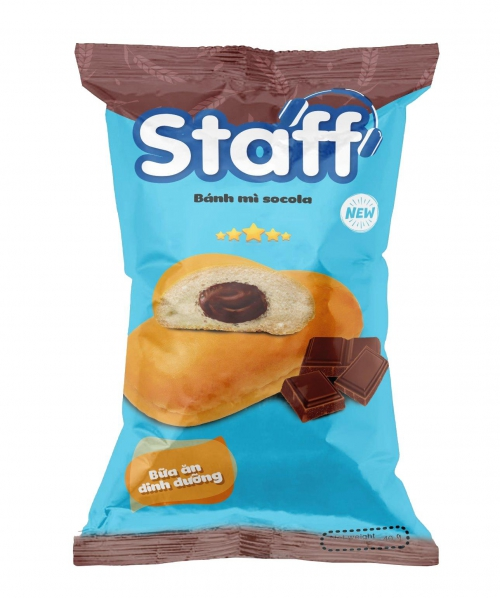 Bánh mì Socola 40 gr - Bánh Mì Staff