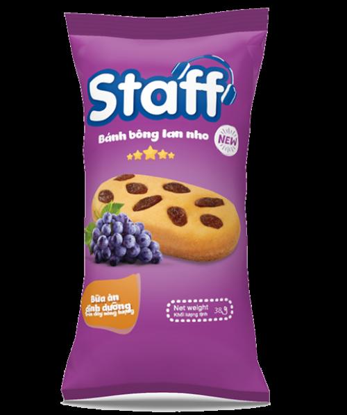 Staff bông lan nho - Bánh Mì Staff